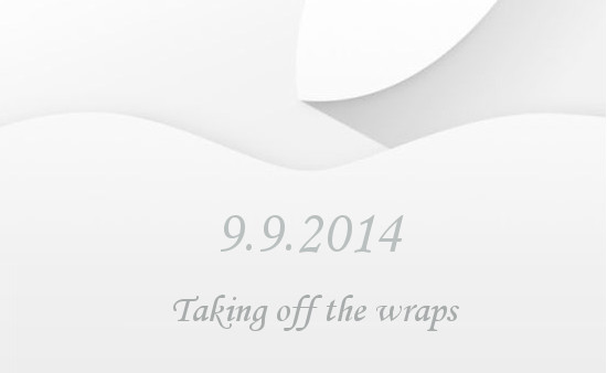 Apple Event 9th Sept 2014