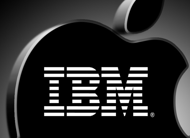 Apple and IBM Partnership Banner