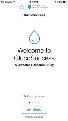 GlucoSuccess for Apple's ResearchKit