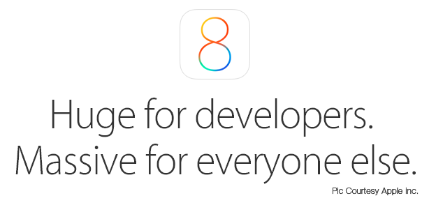 iOS 8 - Huge for developers. Massive for everyone else.