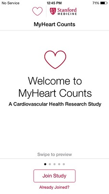 MyHeart Counts for Apple's ResearchKit