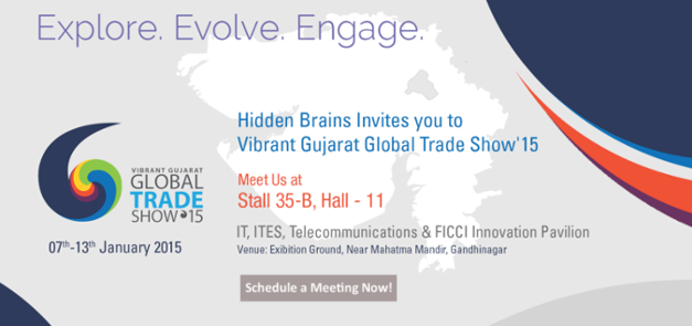 Vibrant Gujarat Global Trade Show - 2015 Banner