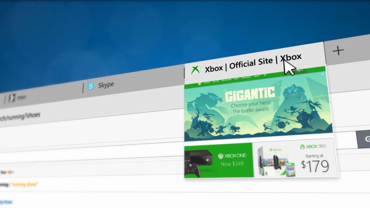 Windows 10 - Edge Browser