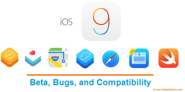 iOS 9 Beta, Bugs and Compatibility Banner