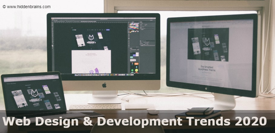 latest trends in web design and development