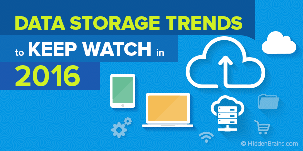 Data storage trends 2016