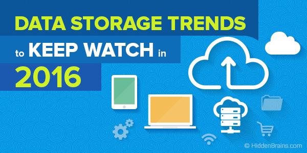 Data storage trends 2016