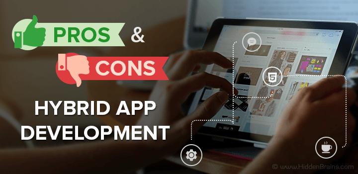 hybrid vs native app development pros cons banner