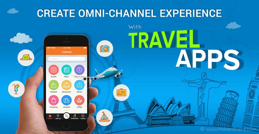 Travel Apps Development Banner