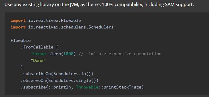 Java Interoperability