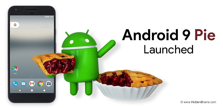 Android 9 Pie Launched: Features and Release Date - Hidden Brains Blog