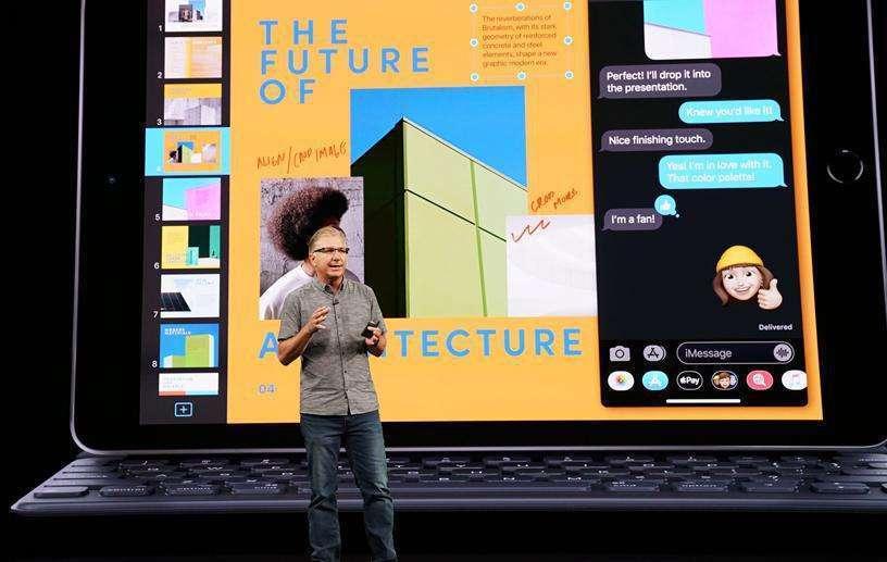 Apple unveils 7th generation iPad
