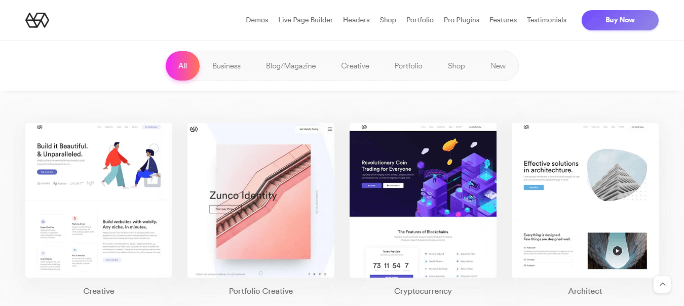 Webify WordPress Theme