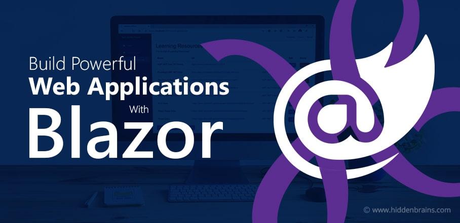 Web Applications Development with Blazor
