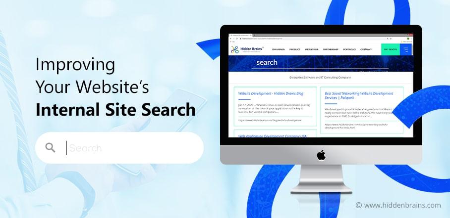 Improve Website Internal Site Search