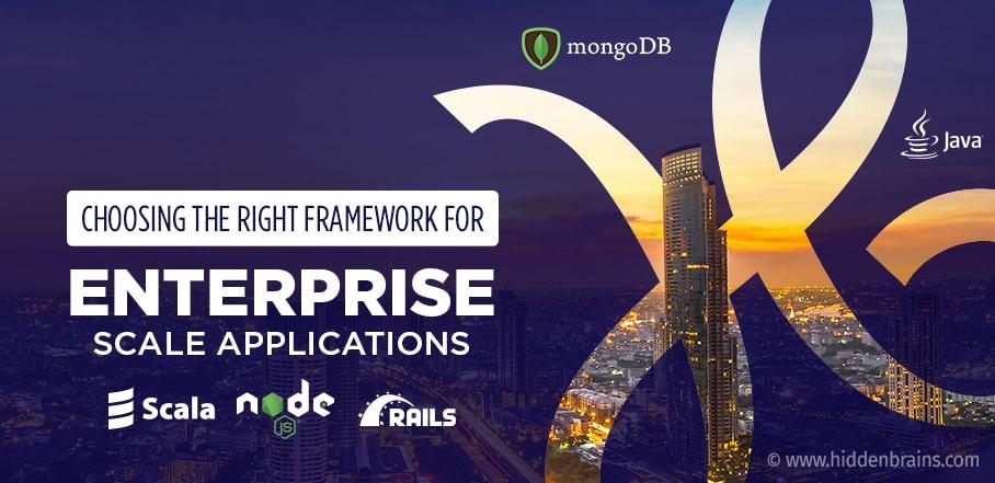 Best Framework for Enterprise Application Development