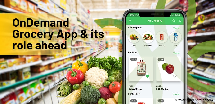 Online Grocery App Development Company