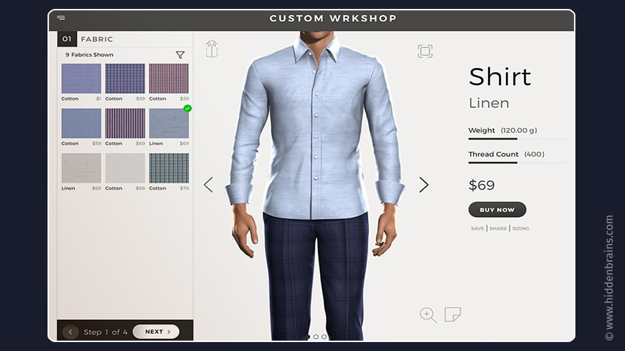 Custom Clothing App
