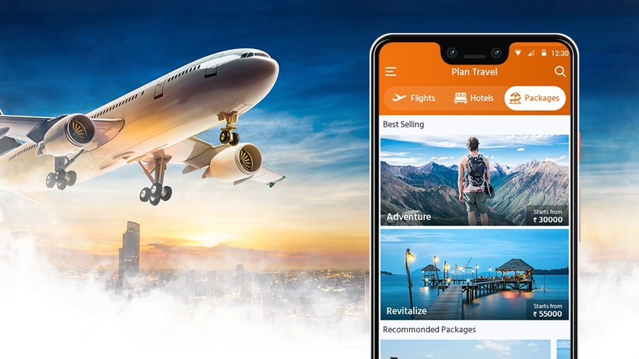 Flight and Tickets Booking App