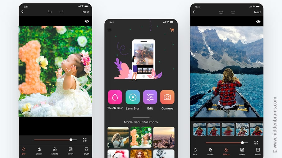 Selfie Photo Editor App