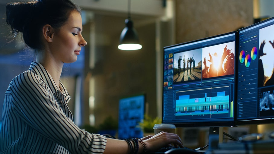 Video Editing and Rendering Software
