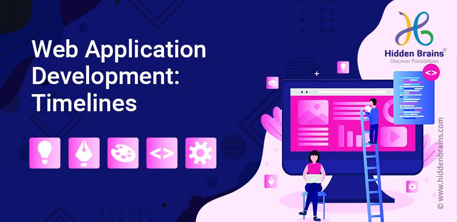 time to develop a web application