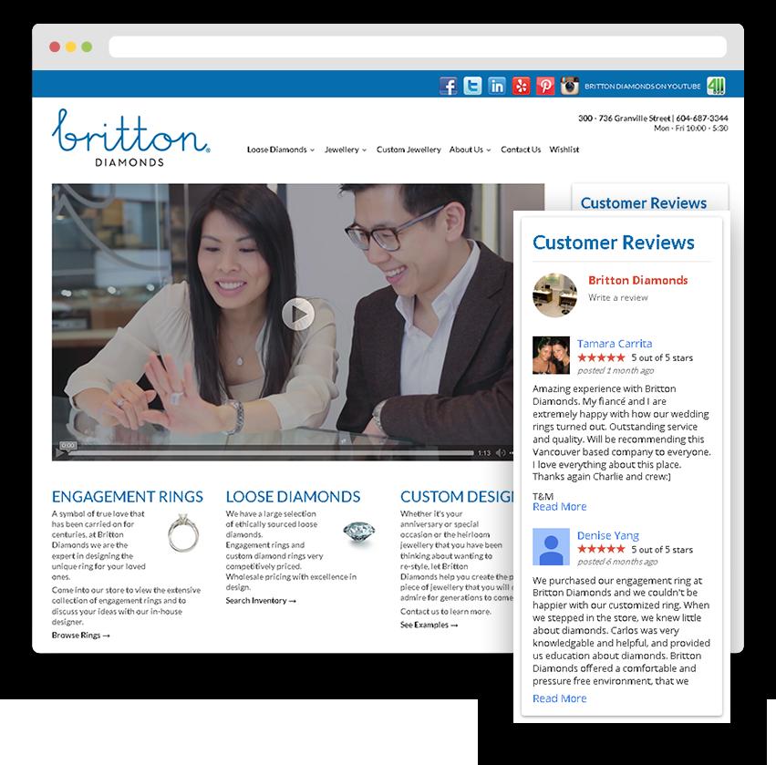 Jewellery eCommerce Websites Development
