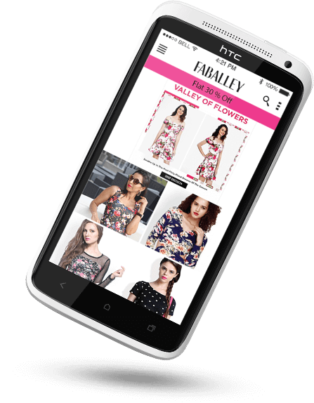 Online women shopping app development