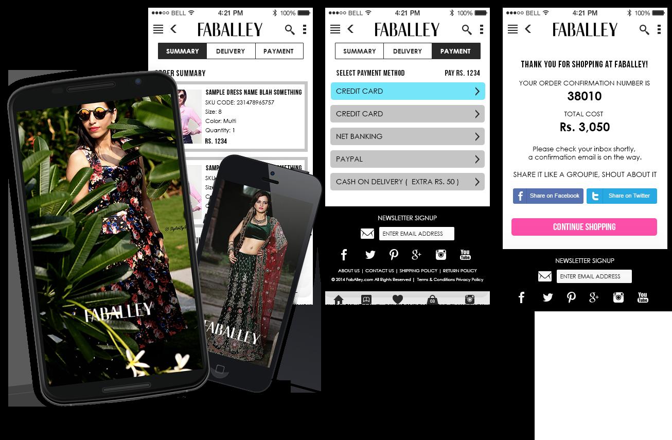 FabAlley shopping app development