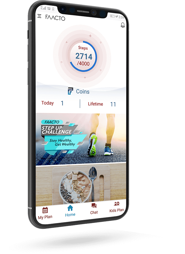 Faacto a Diet and Workout Plan App Developed by Hidden Brains