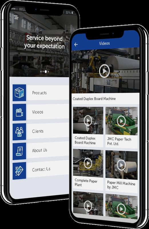 jmc business app with Corporate Profile