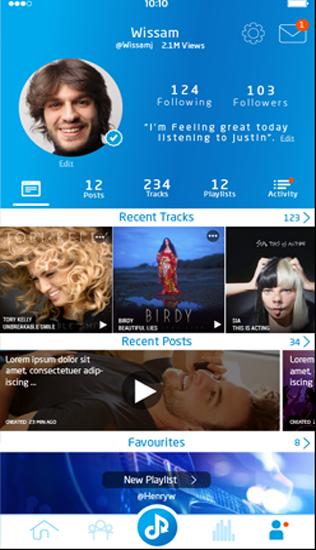 Muzeit Music Application Development