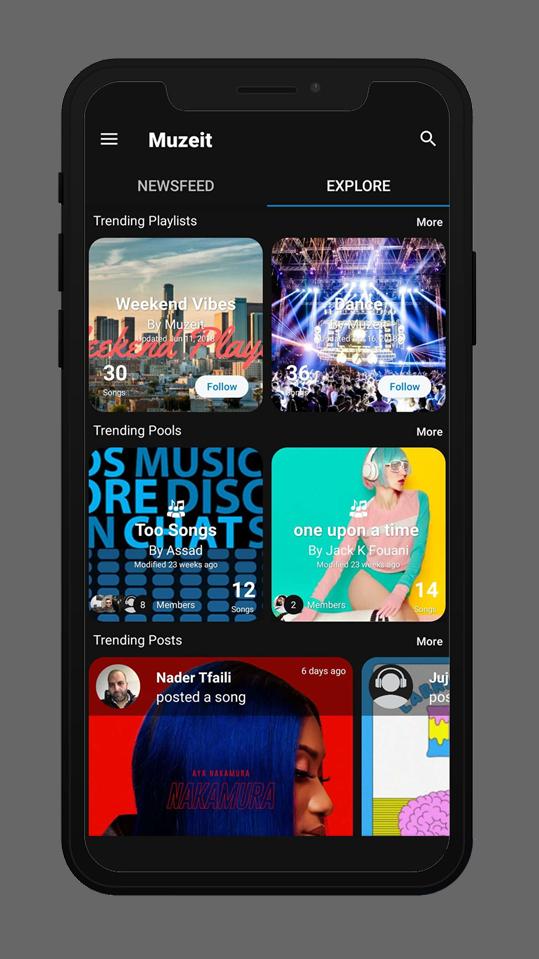 Muzeit Video Music Editing App