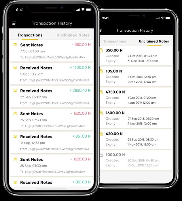 blockchain wallet app development with contact list