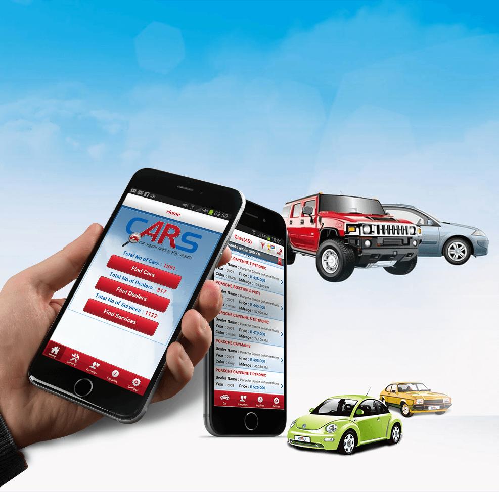 Automobile ReactJS App Development