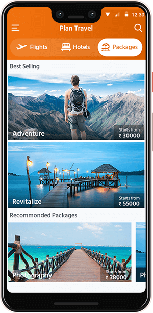 top travel app development services